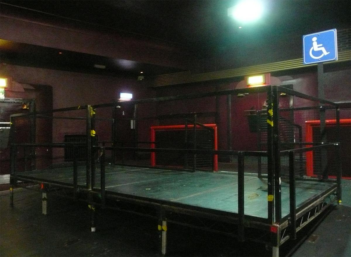 Viewing platform at O2 Apollo Manchester