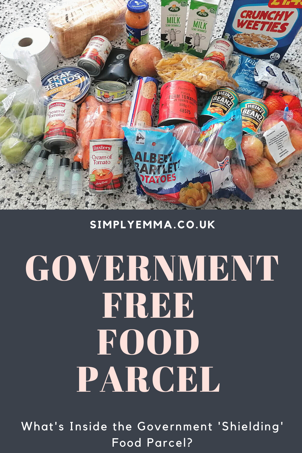 What's Inside the Government 'Shielding' Food Parcel?