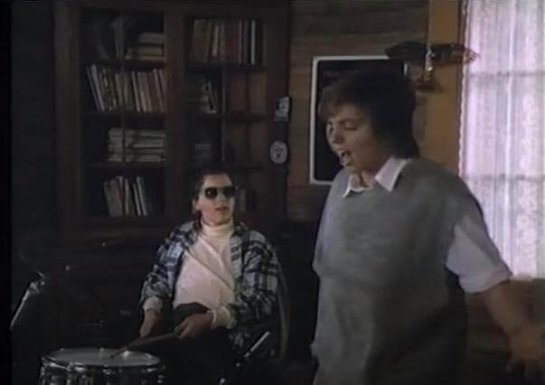 Corey Haim and Liza Minnelli in A Life to Live.