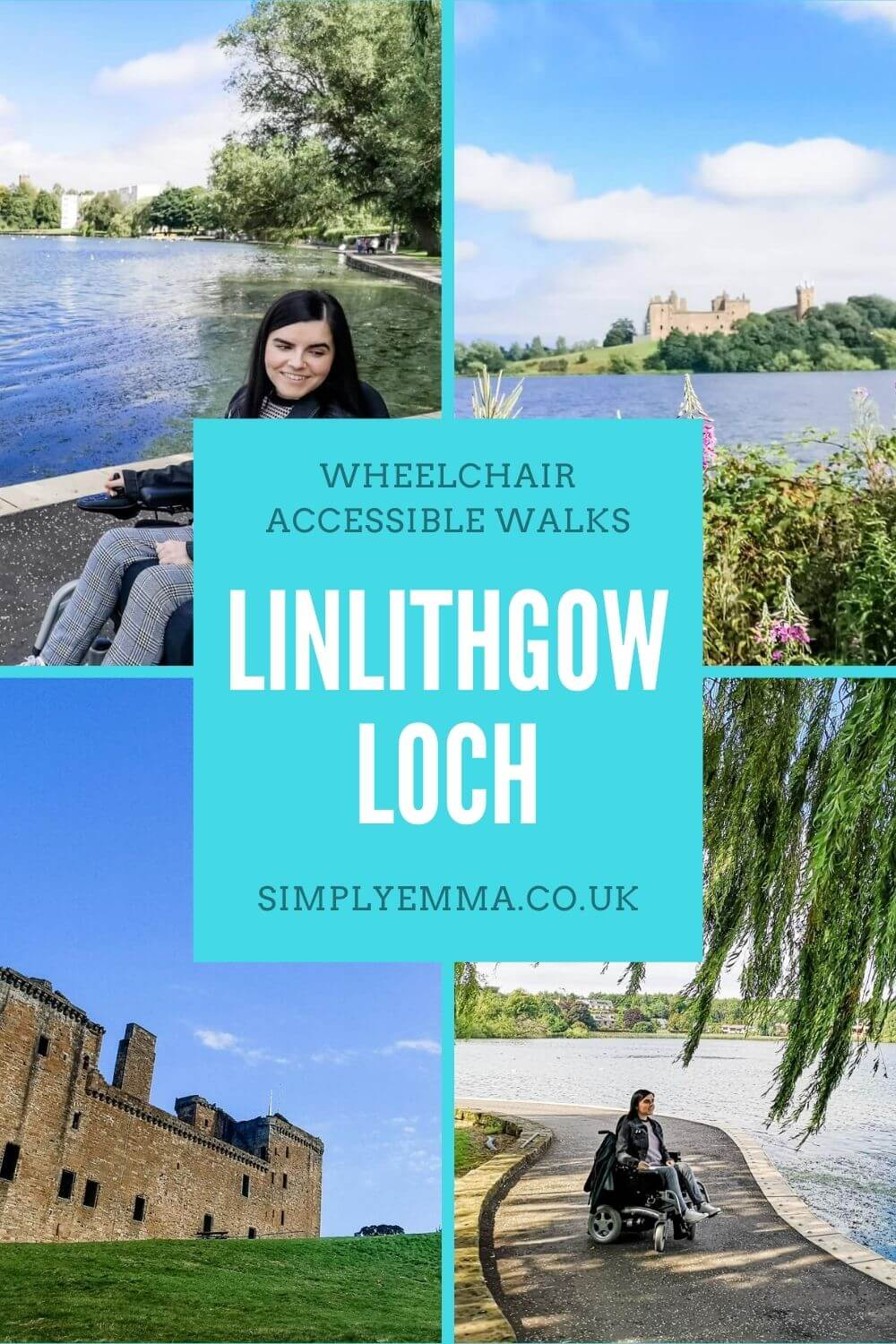 Linlithgow Loch, A Wheelchair Accessible Walk in West Lothian, Scotland