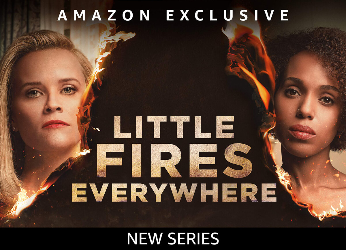 Little Fires Everywhere promotion poster