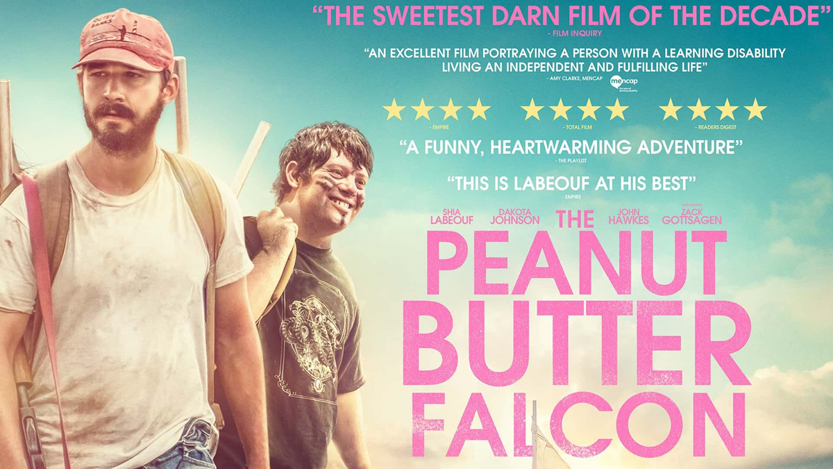 The Peanut Butter Falcon movie poster.