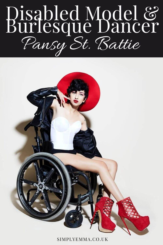 Interview | Disabled Model & Burlesque Dancer Pansy St. Battie
