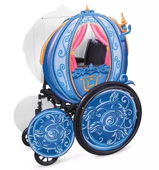 Cinderella's Coach Wheelchair Cover Set from Disney.