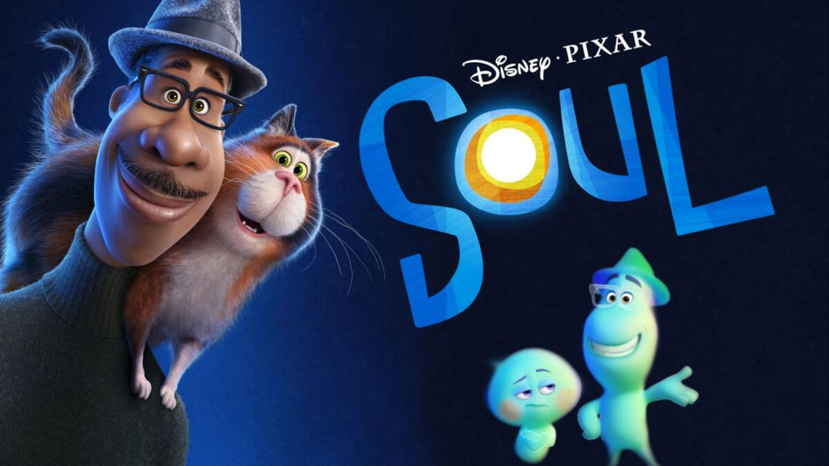 Soul Disney Plus Pixar movie poster.