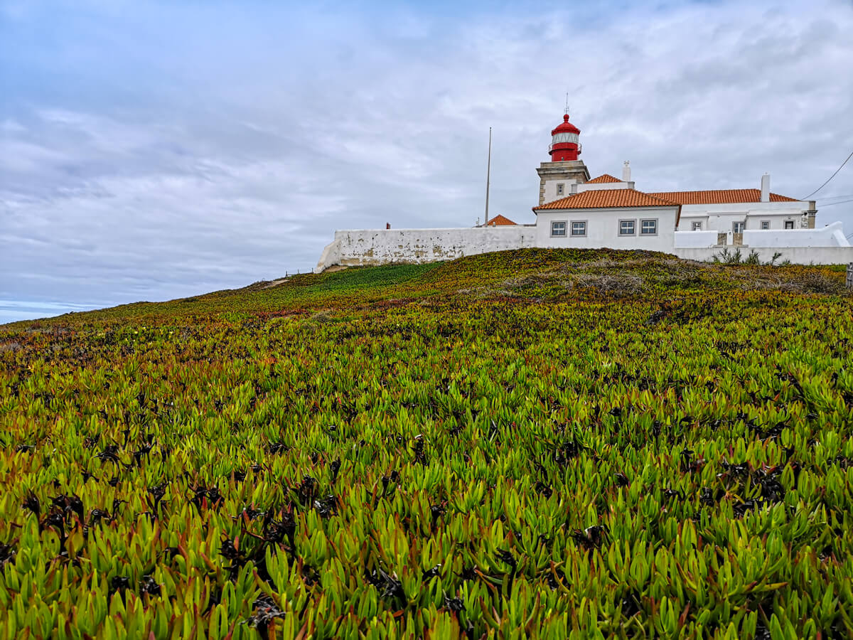 The lighthouse at Cabo da Roca, Portugal.