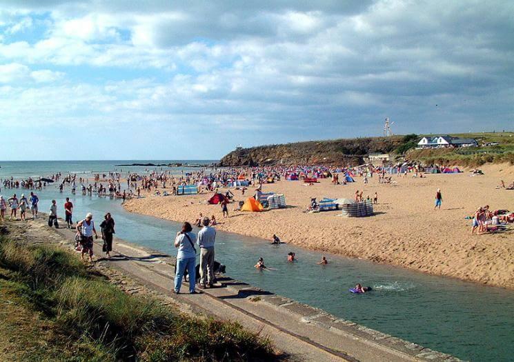Summerleaze Beach, Cornwall