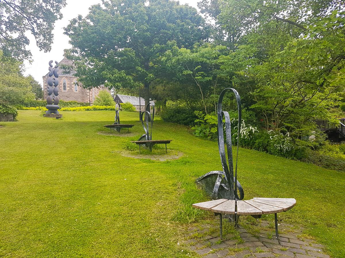 The River Tay Public Art Trail sculptures