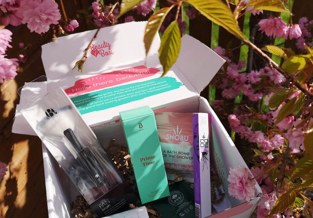 A closer look inside the TheVeganKind beauty box April 2019.