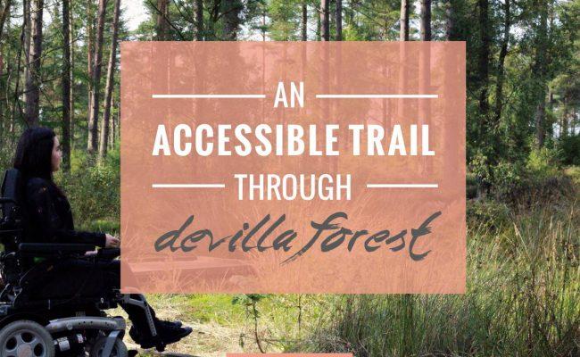 ACCESSIBLE TRAIL THROUGH DEVILLA FOREST