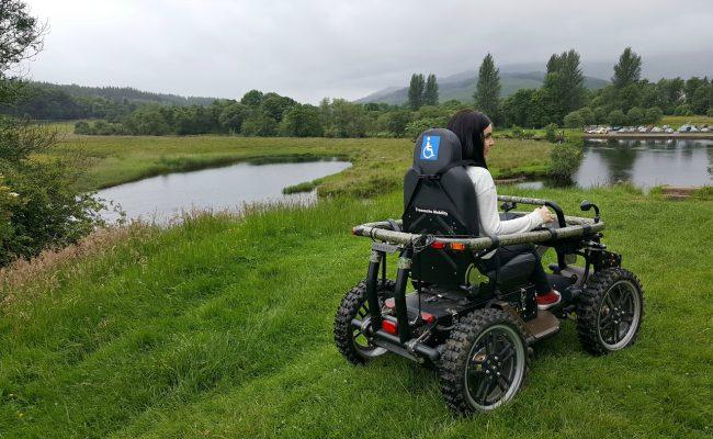 Trossachs Mobility all-terrain-wheelchair callander scotland
